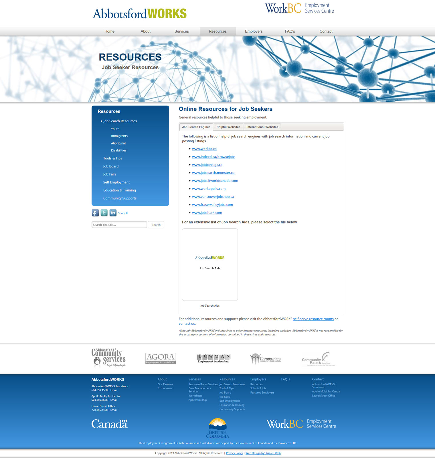 triple i web solutions abbotsfordworks fireshot screen capture 210 job search