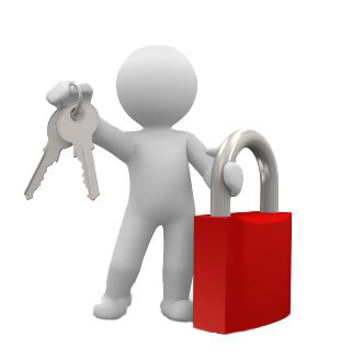 Character holding lock and keys - Privacy Policy
