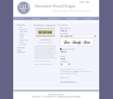 Triple I Web Solutions :: Langley Web Design - DWD Frames